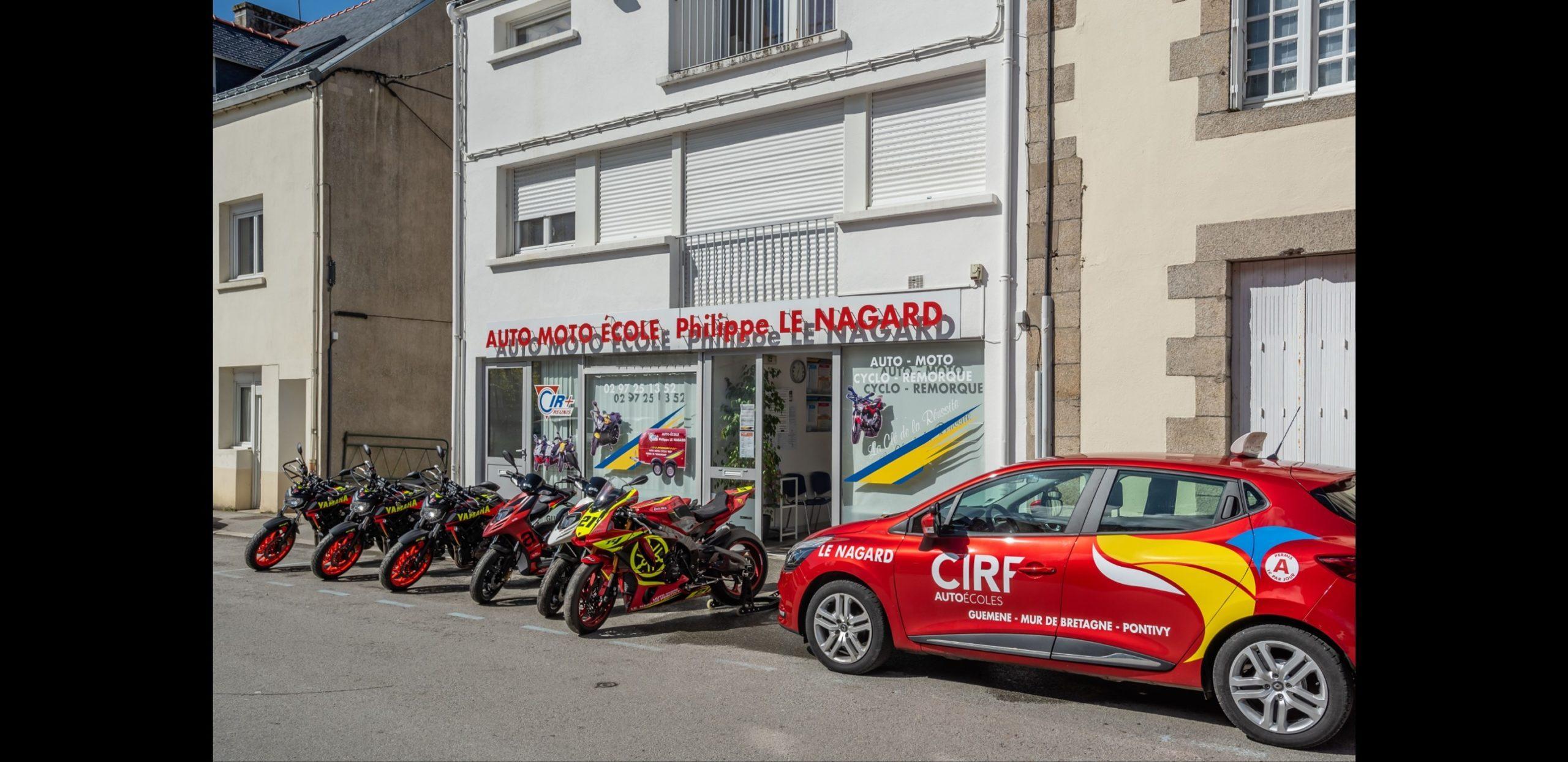 Photo Agence auto-moto école Le Nagard Pontivy de loin