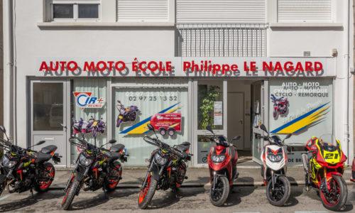 Photo presentation Auto-moto école Le Nagard Pontivy